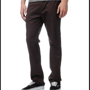 DC Men's Stretch Solid Straight Fit Chino Pants 32